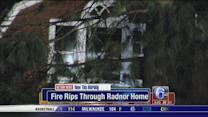 Radnor home badly damaged by fire