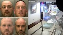 Ram raid gang who stole £200,000 in three month crime spreed jailed for 60 years