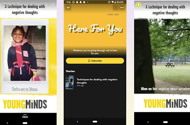 Snapchat adds mental health tools to ease coronavirus anxiety