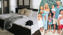 Family of seven's giant shared bed leaves onlookers baffled