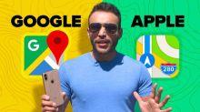 Apple Maps GANA a Google Maps: Look Around vs. Street View