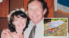 Woman's 'beautiful' tribute to father who passed during pandemic