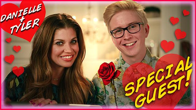 Tyler Oakley and Danielle Fishel Team Up to Dish Love Advice
