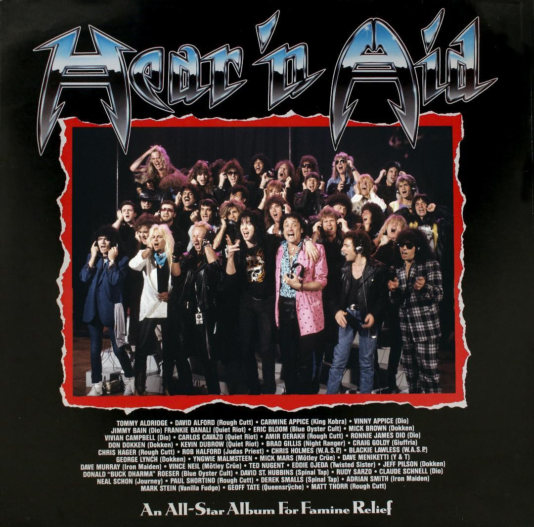 Remembering Hear 'N Aid's 'Stars,' the forgotten 'We Are the World' of '80s metal
