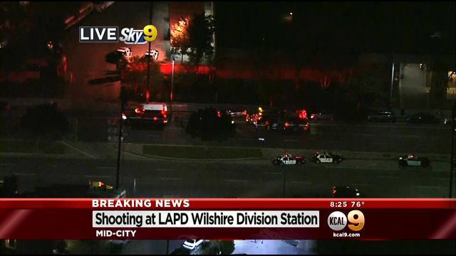Officer Injured After Shots Fired In Lobby Of LAPD's West Traffic Division