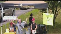 Lemonade stand for good cause