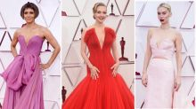 Oscars 2021: Stars stun in risqué plunging gowns on red carpet
