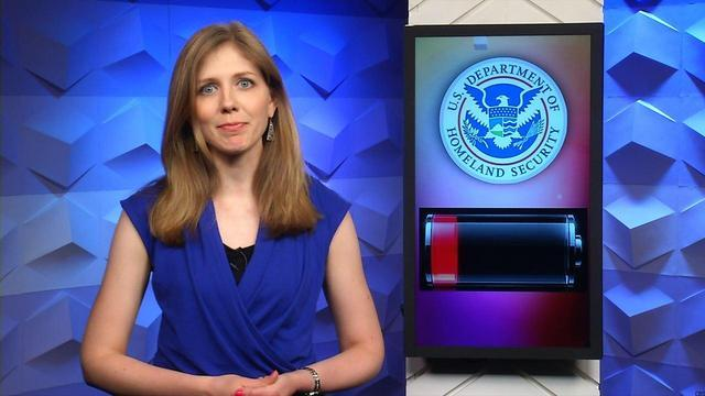 Uncharged phones may not fly with TSA