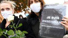 #JeSuisProf: sur les réseaux sociaux, une vague d'hommages au professeur tué
