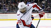 NHL playoffs 2018: Capitals' Devante Smith-Pelly takes 90-mph shot to head; returns in minutes