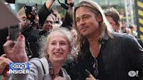 Brad Pitt Shocks Fans at Four 'World War Z' Screenings in One Day
