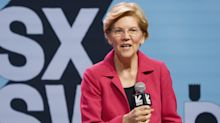 Elizabeth Warren wows voters by running 'like Usain Bolt' to catch a train: 'Let's see Trump do that'