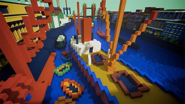 Tate museum reimagines works of art as Minecraft maps