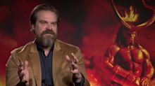 'Hellboy' star David Harbour explains the film's post-credit scenes