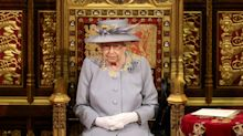 Queen avoids full robes in COVID hit scaled-back ceremony during the state opening of parliament