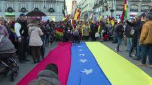 Protesters demonstrate against Venezuela's Maduro in Spain