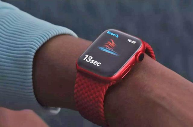 Apple adds blood oxygen monitoring to the Watch Series 6