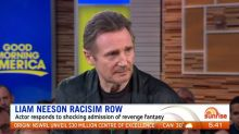 Liam Neeson says he's 'not racist' after fantasising over killing a black man