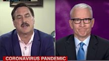 "Anderson Cooper Puts MyPillow Guy To Bed Over Virus Remedy: ""Snake Oil Salesman"" Replies ""Glory To God!"" – Watch"