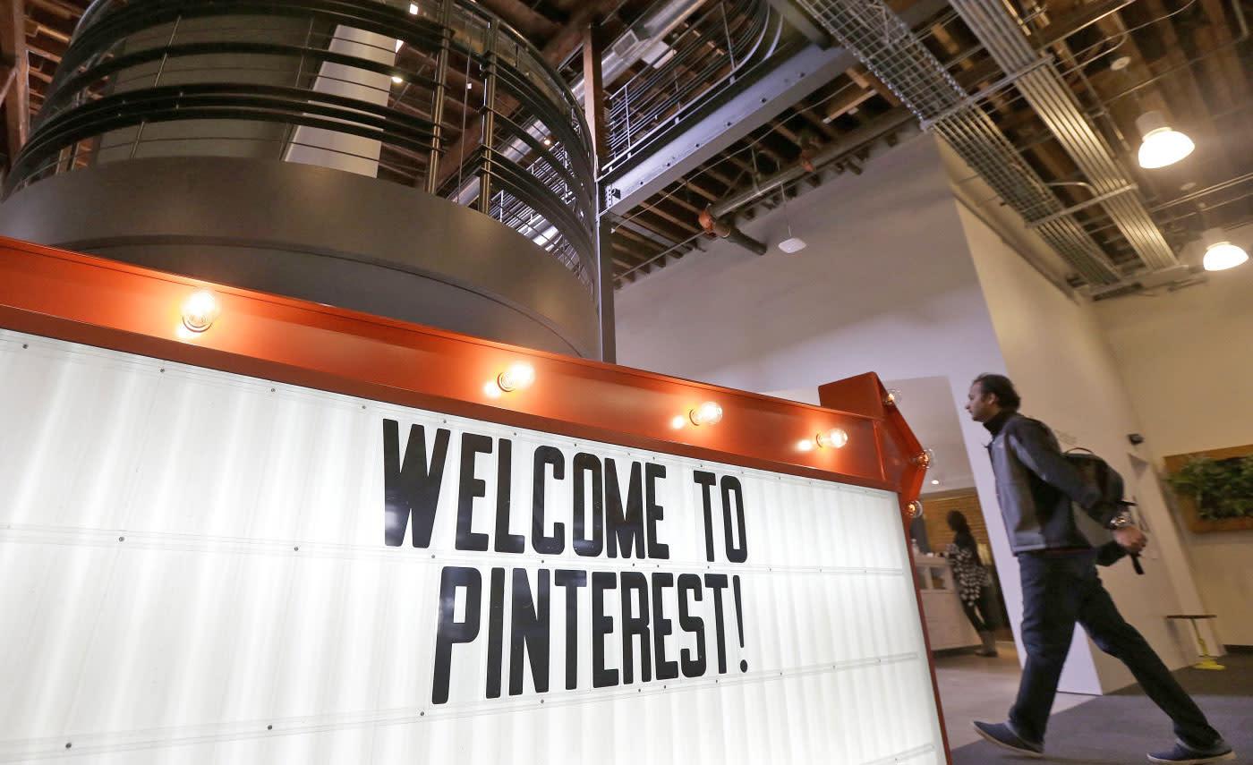 Pinterest nabs Fleksy's team to improve its digital scrapbook   Engadget