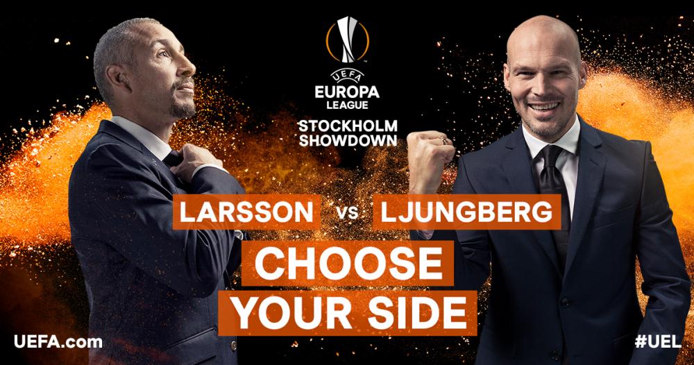VÍDEO: Larsson vs Ljunberg: Un juego de toques con albóndigas