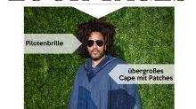 Look des Tages: Lenny Kravitz im lässigen Hippie-Look