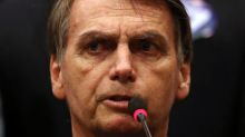 With presidency in sight, Brazil's Bolsonaro stumbles with campaign finance allegation