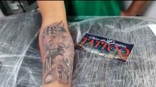 Torcedor faz homenagem e tatua rosto de Thiago Maia com escudo do Flamengo: 'Que sensacional'