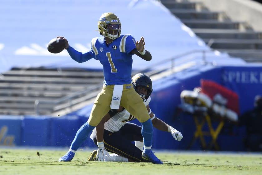 Dorian Thompson-Robinson among nine UCLA players out vs. Oregon