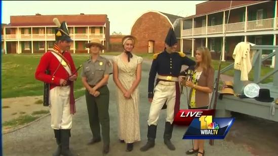 Ava talks War of 1812 commemoration with Ranger Vince