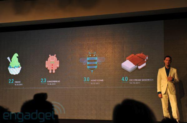 Android 4.0 Ice Cream Sandwich now official, includes revamped design, enhancements galore