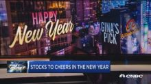 As we ring in 2018, the traders give 4 stocks to cheer to...