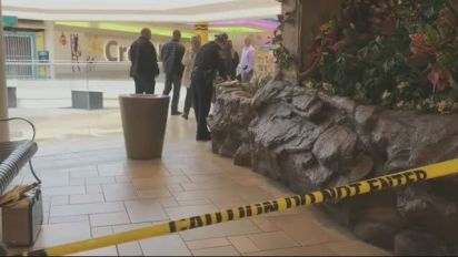 Boy thrown off mall balcony shows 'zero brain damage'