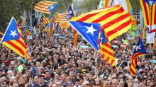 Thousands march in support of Catalonia's independence