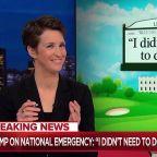 Trump undermines emergency declaration as soon as he makes it