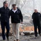 President Trump tours wildfire damage in Northern California, promises change