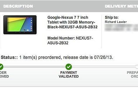 New Nexus 7 to arrive today at Best Buy, ahead of schedule (update: confirmed)