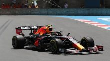 Perez best, Mercedes slow in F1 practice