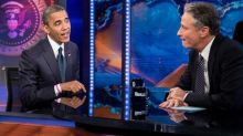 Obama Tells Jon Stewart: You 'Cannot Leave the Show'