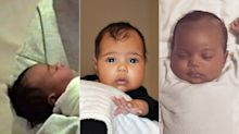 North, Saint and Chicago: See Their First Baby Photos Side by Side