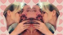 San Valentín 2.0: los románticos mensajes de los famosos en las redes sociales