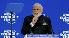 The India that Modi sold at Davos isn't quite the India we live in