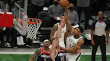 NBA playoff tracker: Bucks survive as Westbrook moves closer to history