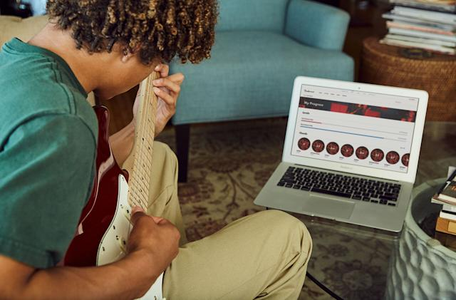Fender Play doesn't judge -- it just teaches you guitar