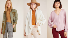 Anthropologie is having a 24-hour flash sale — score up to 50% off hundreds of styles