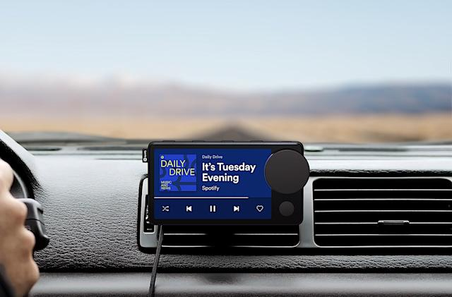 Spotify's voice-controlled 'Car Thing' is available for some subscribers