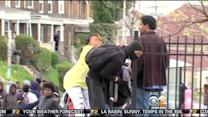 Caught On Video: Mother Drags Son Away From Baltimore Riots