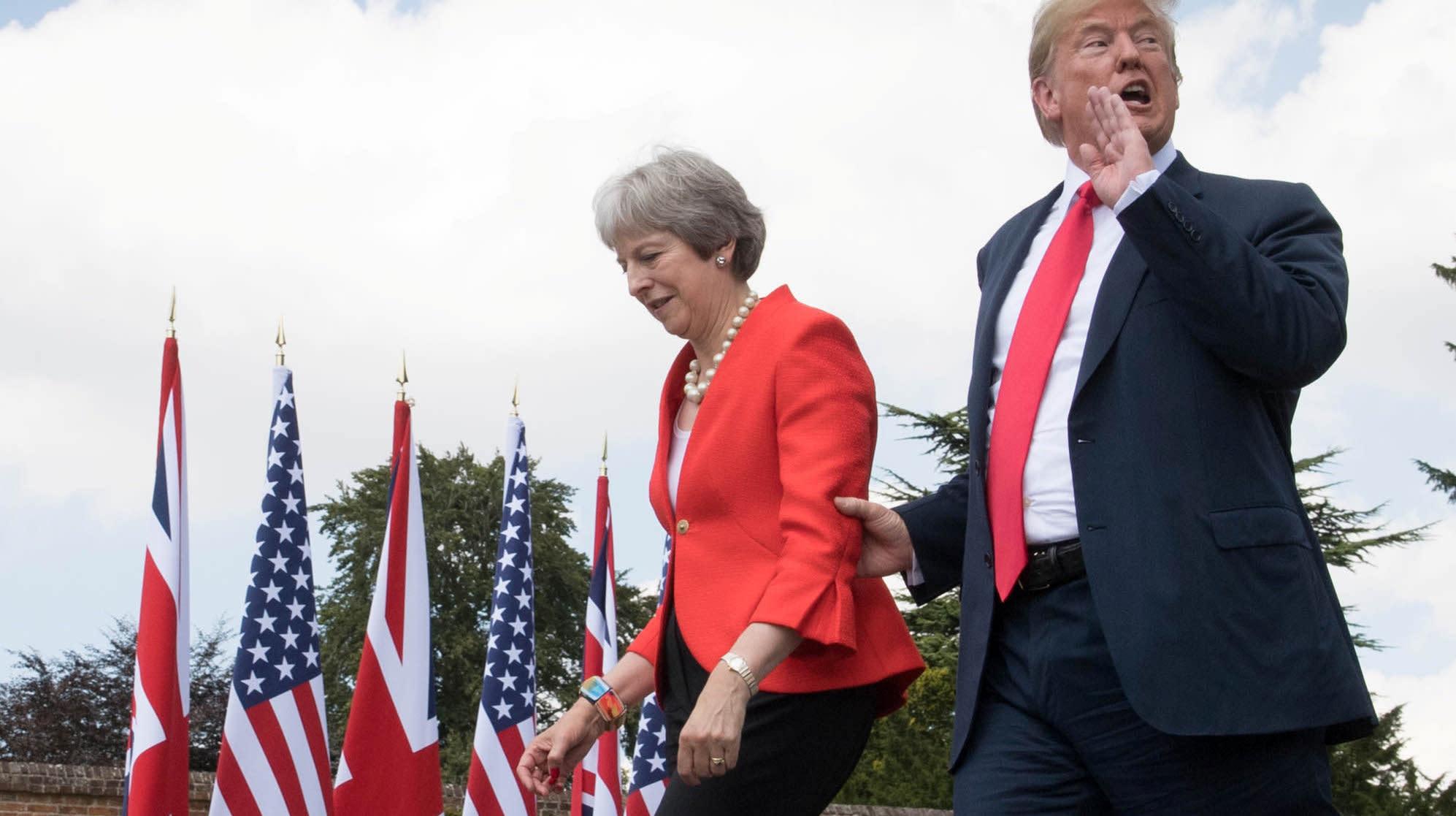 Donald Trump Declares The European Union A 'Foe'