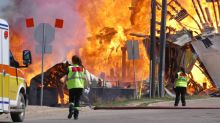 Reports suggest fire that engulfed downtown Brandon buildings was caused by people: police