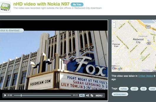 Qik Premium: video downloads, higher quality, Nokia only for now